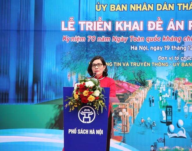 Theo bà Phan Lan Tú, Giám đốc Sở TT-TT Hà Nội, Phố Sách Hà Nội sẽ được thiết kế thành một quần thể văn hóa – lịch sử