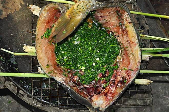 Pa pỉnh tộp - món cá nướng nổi tiếng của người Thái