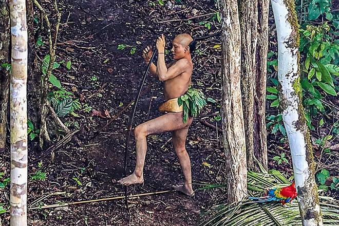 """Người Brazil thường gọi đây là """"thổ dân vùng thượng nguồn sông Humaitá"""""""