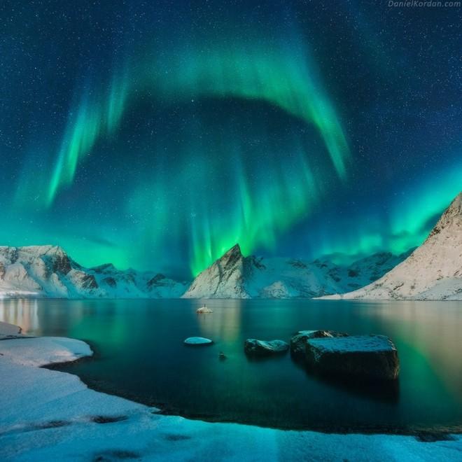 Ánh hào quang ở đảo Lofoten, Na Uy
