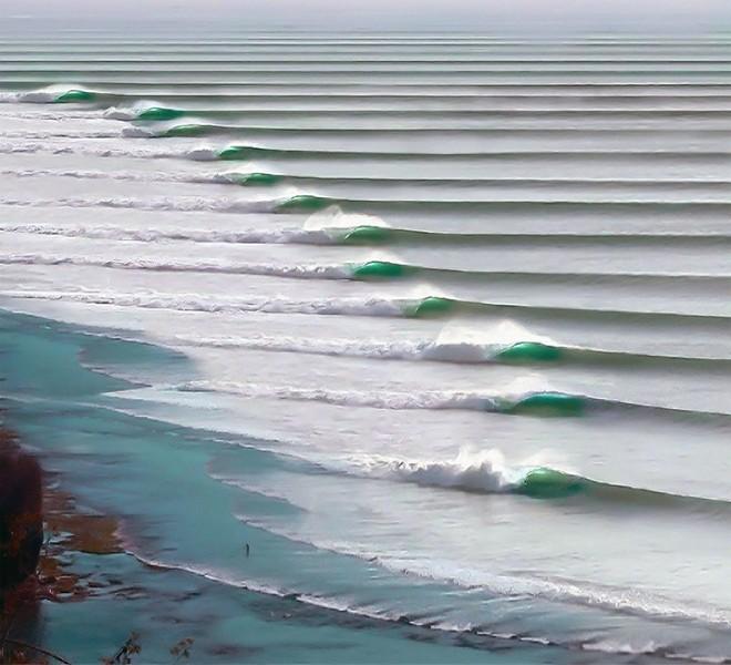 Những con sóng bất tận ở Puerto Chicama, Peru