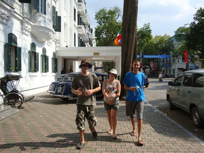 Khách du lịch quốc tế đến Hà Nội đã vượt qua con số 4 triệu lượt khách