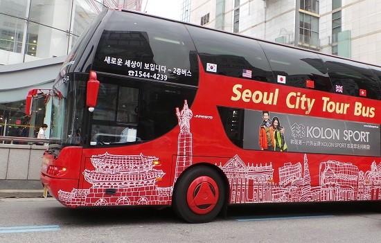 Du khách có thể trải nghiệm đường phố Seoul khi mua vé máy bay của Korean Air