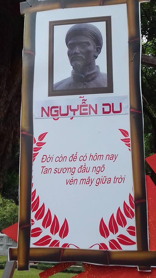 2 câu Kiều của đại thi hào Nguyễn Du bị trích dẫn sai (Ảnh: FB Kiều Mai Sơn)