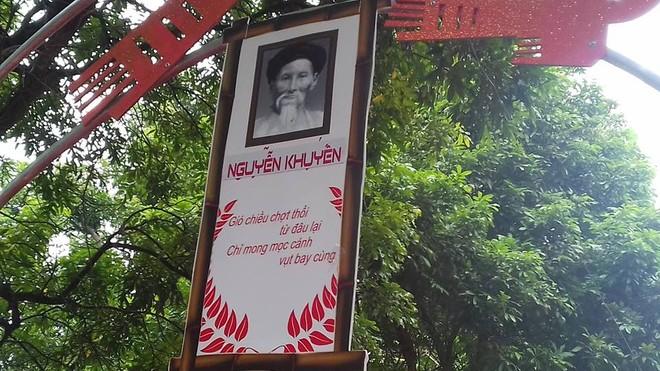 Và Nguyễn Khuyến được hô biến thành Phan Thanh Giản (Ảnh: FB Kiều Mai Sơn)