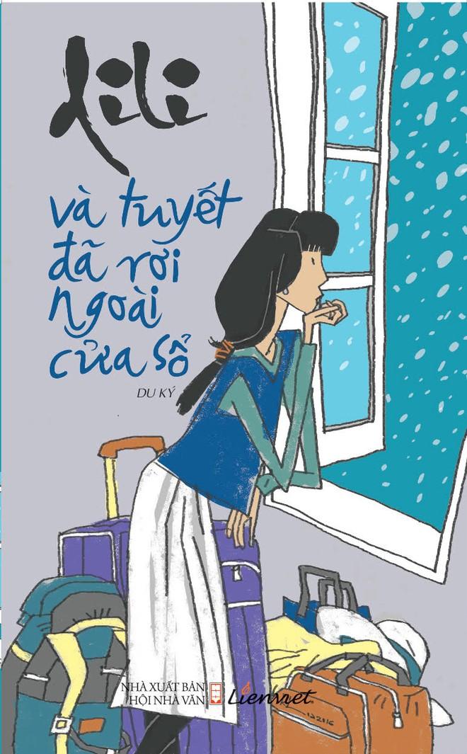 """""""Và tuyết đã rơi ngoài cửa sổ"""" là cuốn du ký thứ 3 của Di Li"""