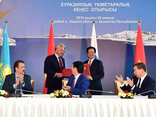 Việt Nam - đối tác đầu tiên của Liên minh Kinh tế Á - Âu ảnh 1