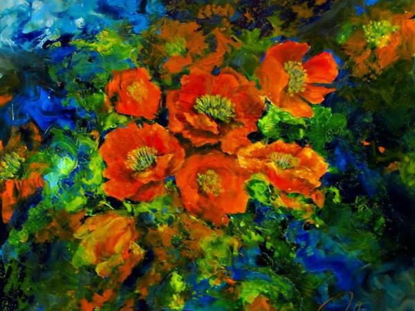 Họa sỹ của các loài hoa ảnh 2