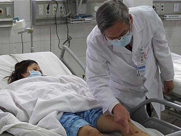 Điều trị bệnh nhân bị viêm màng não mô cầu