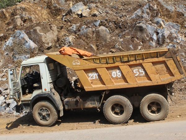 """Nhiều xe tải hết """"đát"""" thường dạt về các tỉnh vùng núi, vùng xa hoạt động"""