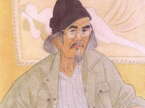 Chân dung tự họa của họa sỹ Lê Năng Hiển