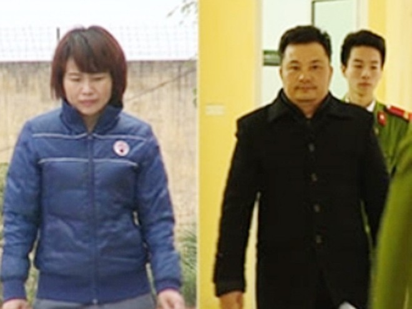"""Hai """"trùm lừa"""" Công ty Liên kết Việt: Lê Xuân Giang và Nguyễn Thị Thủy"""