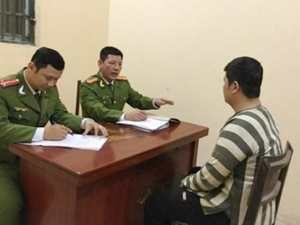 CAH Gia Lâm đấu tranh với đối tượng phạm pháp hình sự