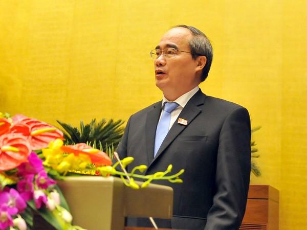 Chủ tịch Ủy ban Trung ương Mặt trận Tổ quốc Việt Nam Nguyễn Thiện Nhân