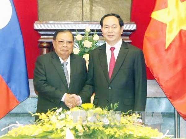Thúc đẩy mạnh mẽ quan hệ hợp tác toàn diện Việt - Lào ảnh 1