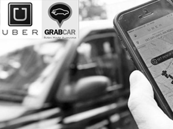 Sẽ luật hóa taxi Grab và Uber? ảnh 1