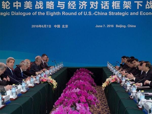 Cuộc đối thoại chiến lược và kinh tế Trung - Mỹ lần thứ tám ở Bắc Kinh