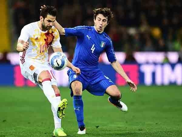 Tây Ban Nha và Italia sẽ phải loại nhau từ rất sớm