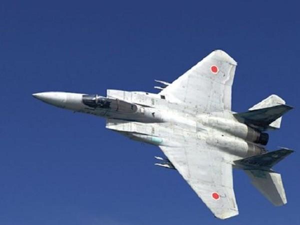 Một chiếc chiến đấu cơ của Lực lượng Phòng vệ trên không Nhật Bản