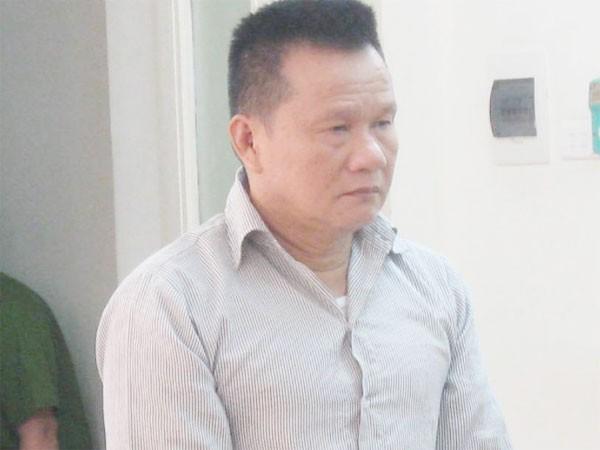 Đối tượng buôn ma túy Trịnh Văn Bình tại phiên tòa