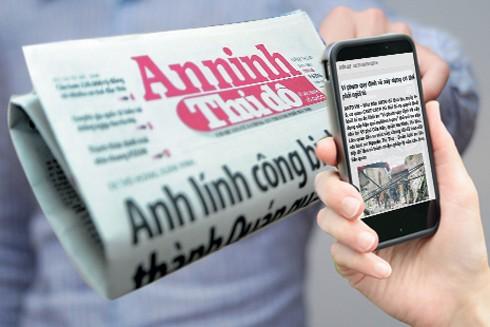Số người đọc báo điện tử đang tăng lên, nhưng báo in vẫn giữ được độc giả nhất định