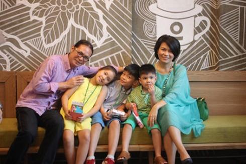 Gia đình nhỏ của đạo diễn Trần Lực