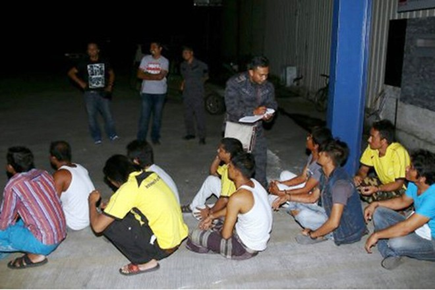 Maylaysia bắt 434 lao động bất hợp pháp