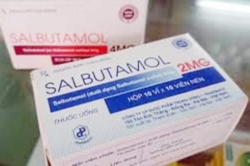 Bộ Y tế cho nhập khẩu trở lại chất salbutamol sau 9 tháng ban lệnh cấm