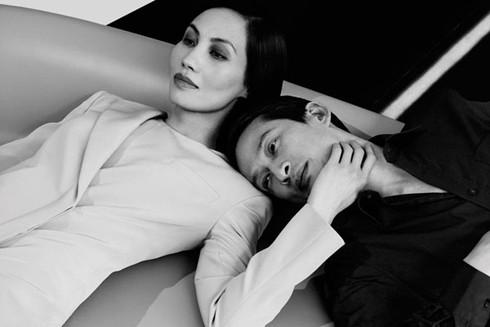 Đạo diễn Trần Anh Hùng và vợ - diễn viên Trần Nữ Yên Khê