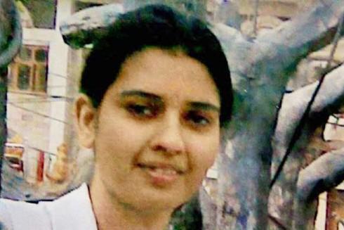 Cô Preeti Rathi, nạn nhân của vụ tạt axit