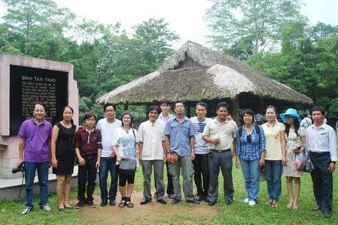 Các đại biểu Hội nghị Viết văn trẻ toàn quốc lần thứ VIII