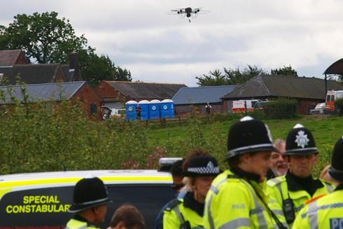 Anh: Báo động tội phạm sử dụng máy bay không người lái