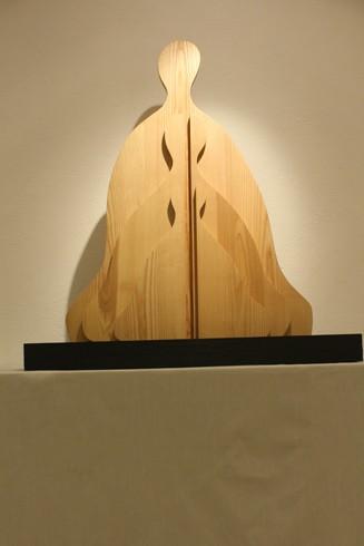 Phật gỗ