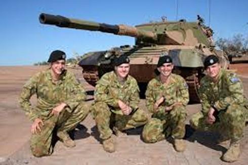 Binh lính thuộc quân đội Australia