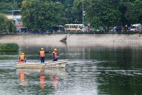 Hồ Ba Mẫu là một trong ba hồ đầu tiên được làm sạch bằng công nghệ REDOXY - 3C của Đức