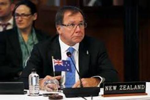 Ngoại trưởng New Zealand và TT Philippines bàn về Biển Đông