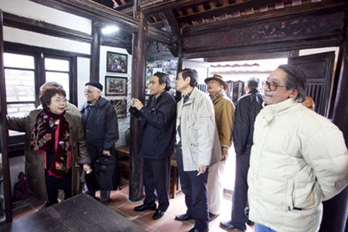 """Nhà lưu niệm Kim Lân: Cõi riêng của """"Ẩn sỹ giữa làng văn"""" ảnh 1"""