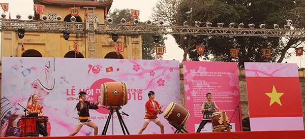 Lễ hội hoa Anh Đào 2016, thắt chặt quan hệ hữu nghị Việt – Nhật ảnh 4