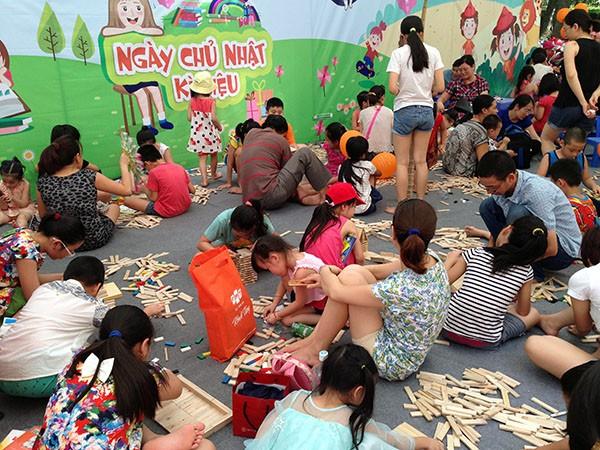 Ngày chủ nhật kỳ diệu trở lại, thu hút trẻ em Thủ đô dịp cuối tuần ảnh 5