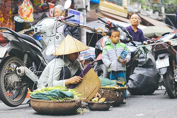 Một vòng chợ hoa Hàng Lược trước thềm Tết Đinh Dậu ảnh 15