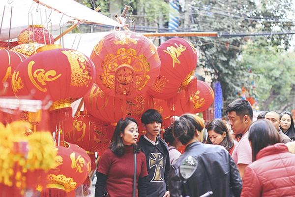 Một vòng chợ hoa Hàng Lược trước thềm Tết Đinh Dậu ảnh 11