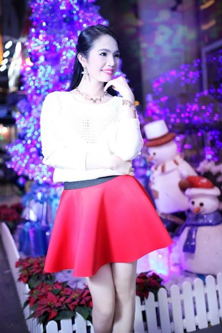 Dương Kim Ánh rạng ngời trong bộ ảnh đón Giáng sinh ảnh 7