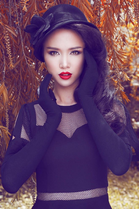 Xao xuyến ngắm vẻ đẹp quyến rũ của Vũ Ngọc Anh ảnh 7