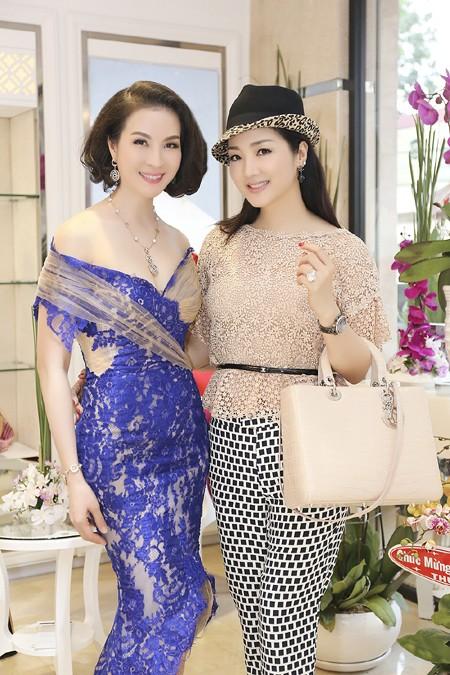 Dàn sao hội tụ chúc mừng MC Thanh Mai ảnh 2