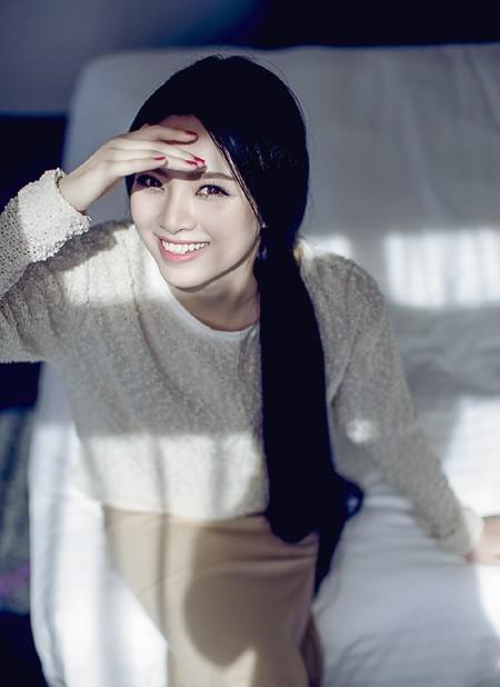 Hoa hậu Ngọc Anh cực cuốn hút trong bộ ảnh mới ảnh 3