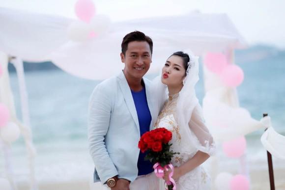 """Hoa hậu Triệu Thị Hà """"lên xe hoa"""" với tài tử Hồng Kông ảnh 2"""
