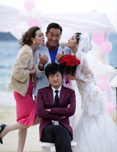 """Hoa hậu Triệu Thị Hà """"lên xe hoa"""" với tài tử Hồng Kông ảnh 5"""