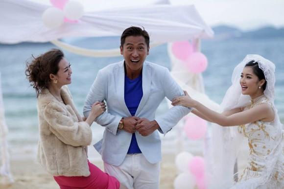 """Hoa hậu Triệu Thị Hà """"lên xe hoa"""" với tài tử Hồng Kông ảnh 7"""