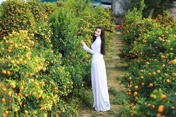 Hot girl đa tài Lương Giang rạng ngời đón xuân ảnh 10