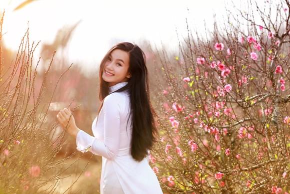 Hot girl đa tài Lương Giang rạng ngời đón xuân ảnh 5